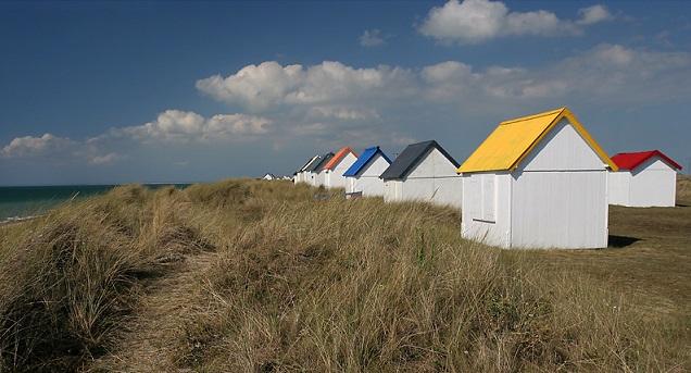 Cabanes de Gouville Cotentin