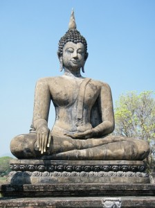 temple sukhothai, nord thailande